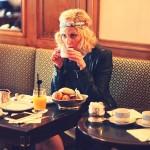 Mon petit bonheur du jour: un petit déjeuner chez Ladurée.…