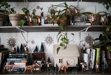 Un calendrier de l'Avent comme une conte de Noël