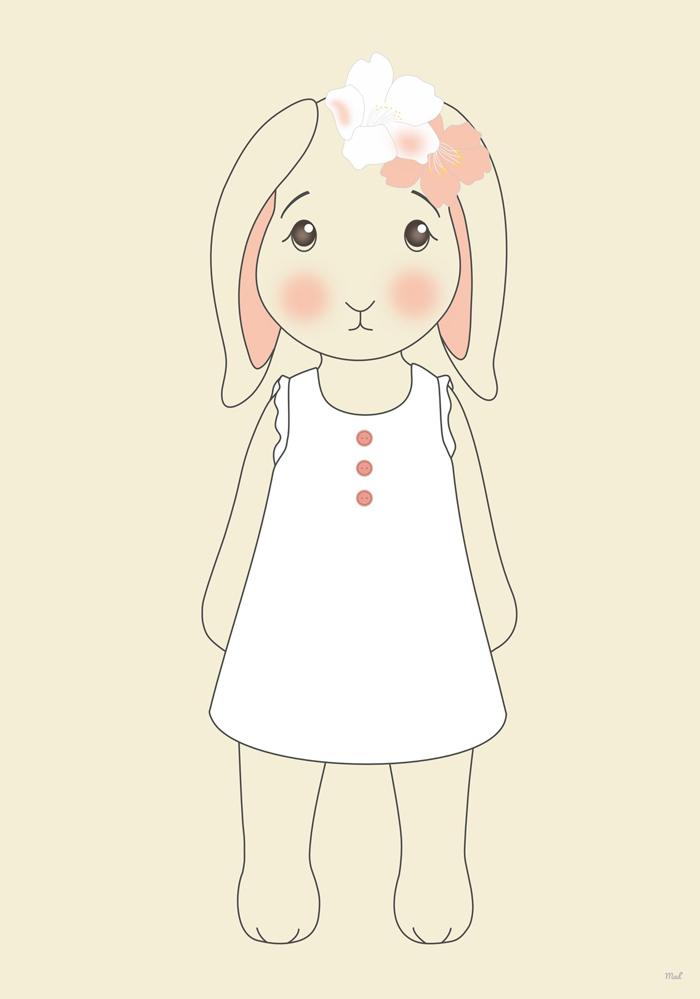 lapin robe volant 2 (Copier)